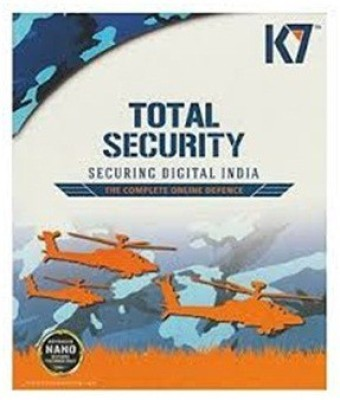 K7 Total security 2 Pc 1year (1 Installation cd 2 Serial Keys)