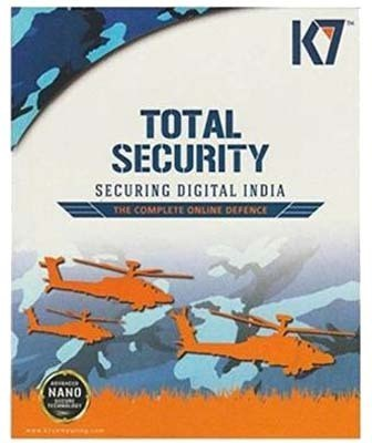 K7 Total Security 10Pc 1 Year (10 Instalation cds & 10 Serial keys Every key 1 Year Valid) at flipkart