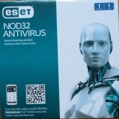 ESET Nod32 Antivirus Version 8 1 User 1 Year