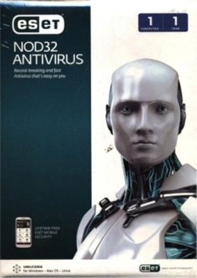 ESET NOD32 Anti-virus Version 7 10 PC 1 Year