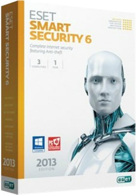 Eset Smart Security Version 6 3 PC 1 Year(Voucher)