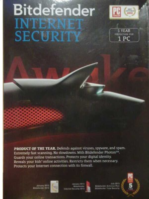 Bitdefender Internet Security 1 PC 1 Year