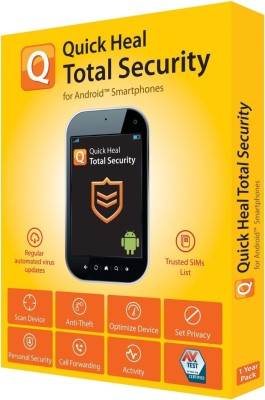 Quick Heal Total Security 1.0 User 1 Year(CD/DVD)
