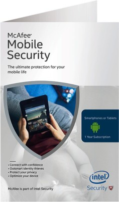 McAfee Mobile Security at flipkart