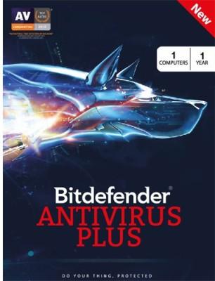 Bitdefender Antivirus Plus 2016 1PC 1Year