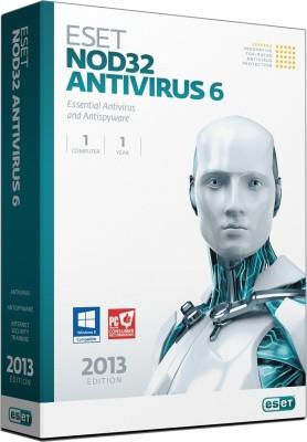 ESET ESET NOD32 Antivirus 2017 (1PC / 3Year) Latest Version Antivirus