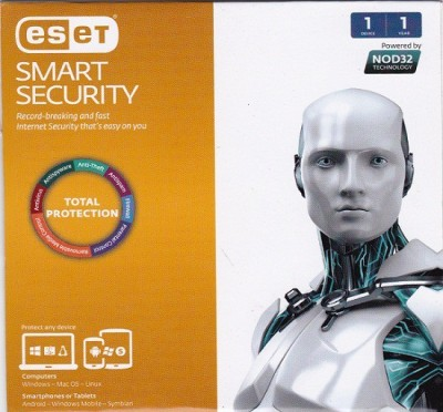 Eset Smart Security Version 8 1 PC 1 Year