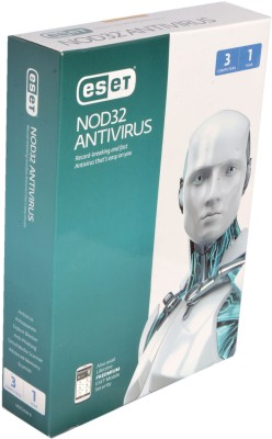 ESET NOD32 Antivirus, 3 PC 1 Year