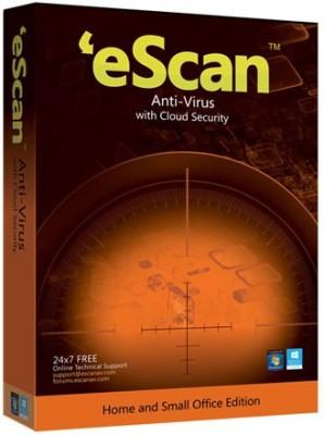 eScan Anti-Virus With Cloud Security 5 Users 1 Year at flipkart