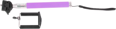 Yashi Cable Selfie Stick(Purple)