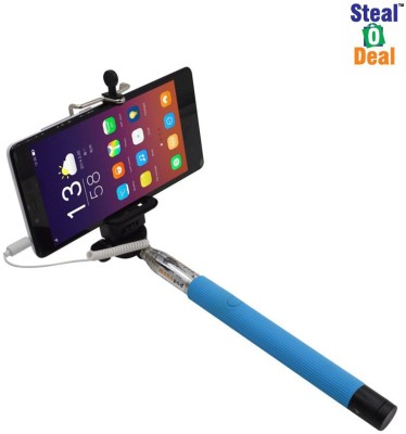 Stealodeal Cable Selfie Stick(Multicolor) Flipkart