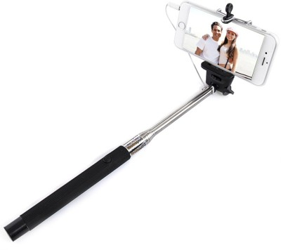 Deemark Cable Selfie Stick(Black)
