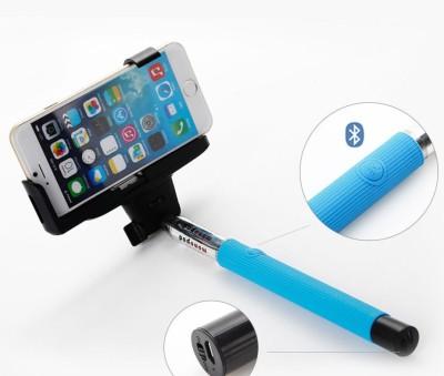 Skyleo Global Bluetooth Selfie Stick(Blue)