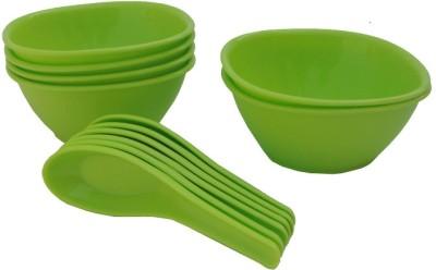 Incrizma Bowl Spoon Plate Ladle Serving Set(Pack of 12) at flipkart