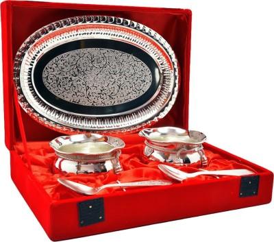 Indian Craft Villa ICV-CP-131 Bowl Spoon Tray Serving Set(Pack of 5) at flipkart