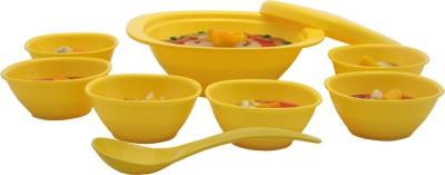 Incrizma Bowl Spoon Plate Ladle Serving Set(Pack of 9) at flipkart