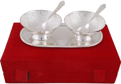 hand-e-Crafts Bowl Tray Serving Set(Pack of 5) at flipkart