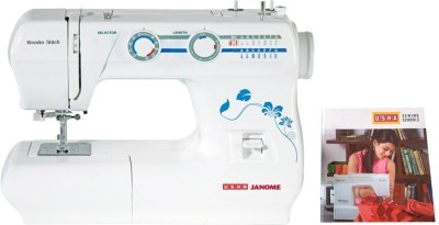 Usha Wonder Stitch Electric Sewing Machine (White)