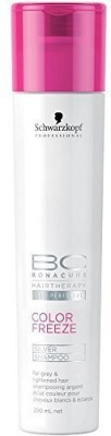Schwarzkopf Professional BC Bonacure Color Freeze Silver Shampoo 250ml(250 ml)  available at flipkart for Rs.714