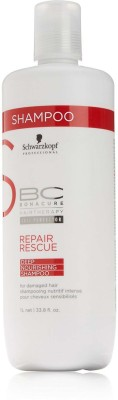 Schwarzkopf BC Repair Rescue Deep Nourishing Shampoo (1000 ml)