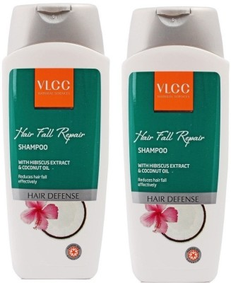 VLCC Natural Sciences Hibiscus & Coconut Oil Hair Fall Repair Shampoo (Pack of 2)(400)  available at flipkart for Rs.360
