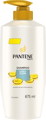 Pantene Lively Clean Shampoo 675ml