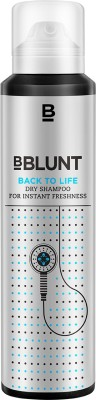 BBlunt Back To Life Dry Shampoo - For Instant Freshness(125 ml)