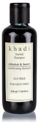 Khadi Herbal Shikakai & Honey conditioning shampoo (SLS,Sulfate & Paraben Free)(210 ml) Flipkart