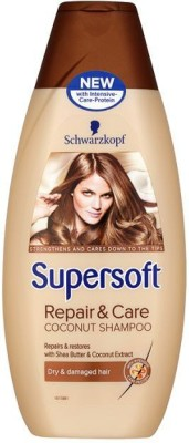 Schwarzkopf Supersoft Repair And Care Shampoo(400 ml)