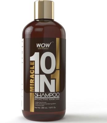 WOW Skin Science Organics 10 in 1 Miracle Shampoo(300 ml)