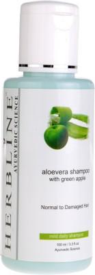 Herbline Aloe Vera Shampoo with Green Apple(100 ml)