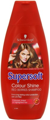 Schwarzkopf Supersoft Color Shine Silicone Free(399 ml)