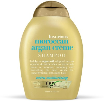 OGX Luxurious Moroccan Argan Creme Shampoo, 385 ML