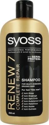 Syoss Renew 7 complete repair shampoo(500 ml) at flipkart