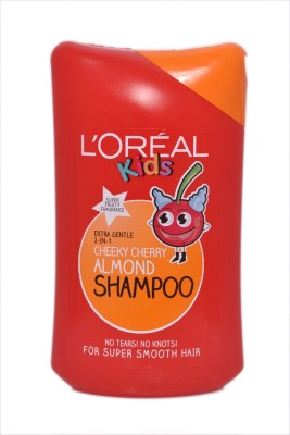 L'Oreal Paris Extra Gentle 2 In Cheeky Cherry Almond Shampoo Super Fruity Fragrence(250 ml)