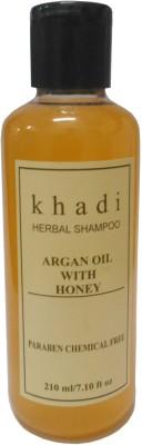 Khadi Herbal Argan oil with Honey (Paraben Chemical Free ) Shampoo(210 ml)