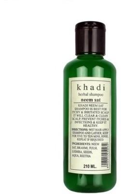 Khadi Neem Sat Shampoo, 210ml