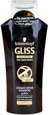 Schwarzkopf Gliss with Liquid keratin ultimate repair shampoo(400 ml)