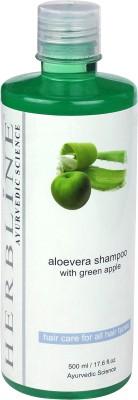 Herbline Aloe Vera Shampoo with Green Apple(500 ml)