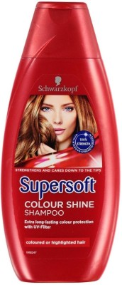 Schwarzkopf Supersoft Colour Shine Shampoo(399 ml)