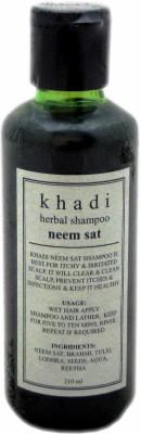 Khadi Neem Sat Shampoo (210ml)