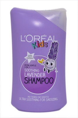 L'Oreal Paris Extra Gentle 2 In 1 Soothing Lavender Shampoo Super Fruity Fragrence(250 ml)