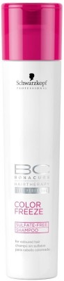 Schwarzkopf BC Color Freeze Sulfate Free Shampoo(249 ml)