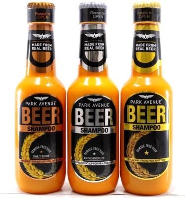 Park Avenue Beer Shampoo Combo(1050 ml)
