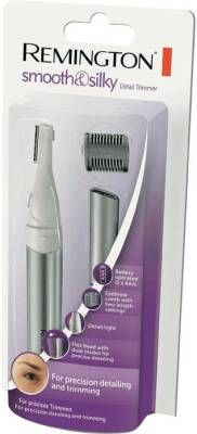 Remington Eyebrow Shaper MPT3800 Trimmer For Women (Silver)