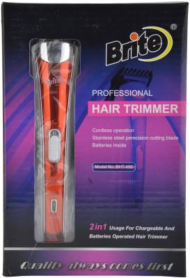 Brite BHT-450 Professional Rechargeable Clipper Trimmer, Body Gro...