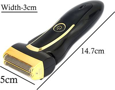 SJ ST65214 Cordless Electric Rechargeable Mens Trimmer Shaver For...