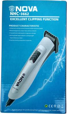 Gemei Nova NHC-3662 Excellent Clipping Function Wired Clipper And...