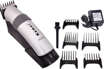 Kemei KM 609 Proffesinal Hair Trimmer (White)