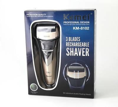 Kemei km-8102 km-8102/00 Shaver For Men (Multicolor)